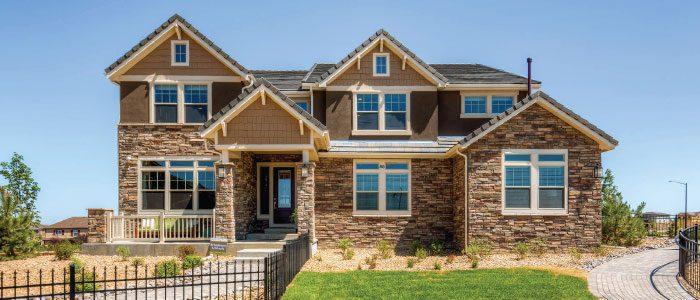 Erie Highlands exterior by Oakwood Homes