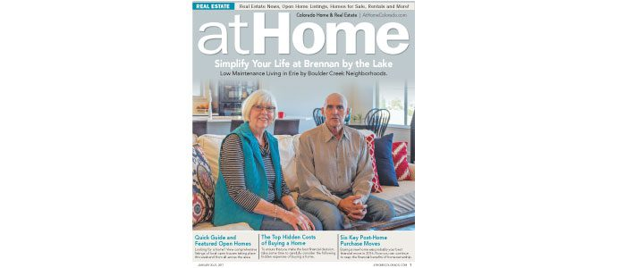 At Home Colorado, Jan. 20, 2017. Boulder County Edition