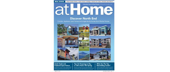 At Home, Boulder County Real Estate, New Home Communities, March 3, 2017
