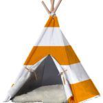 Striped Pet TeePee