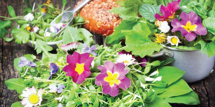 Edible flowers give meals zest