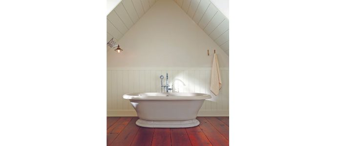 Freestanding baths need special tub fillers