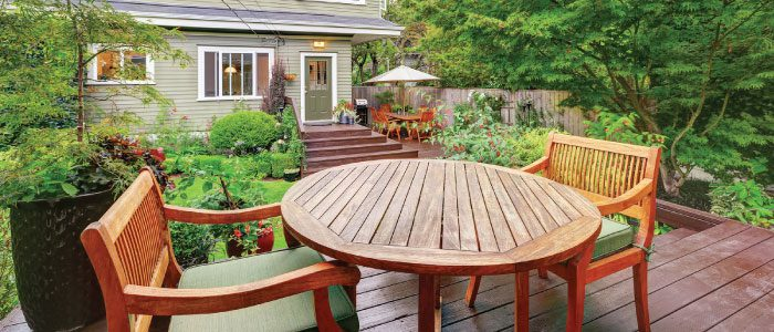 How to keep your patio furniture looking fabulous