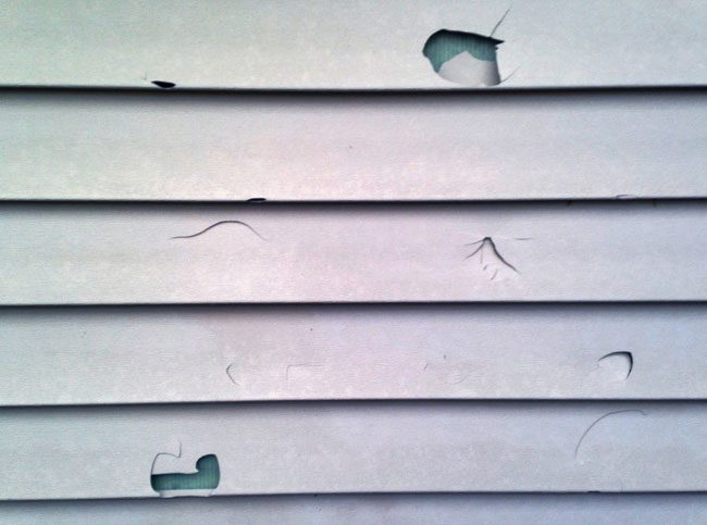Ask Angie's List: How do you repair a hole in vinyl siding?