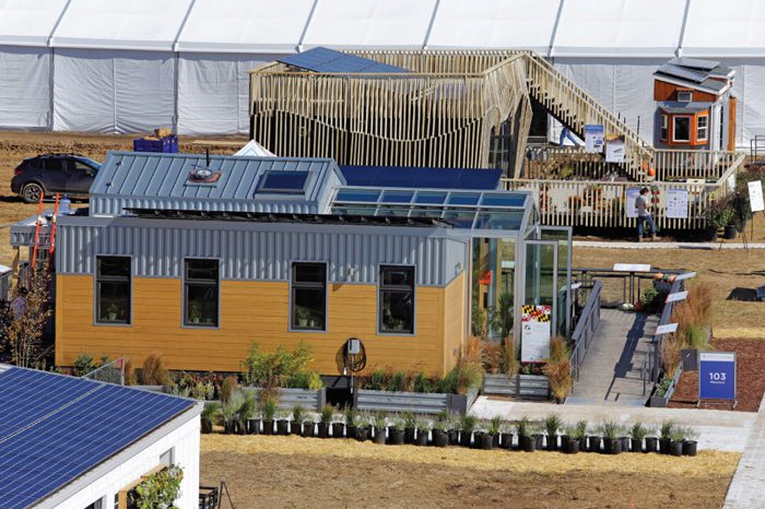 Cutting-edge solar houses on display in Denver's first-ever Solar Decathlon