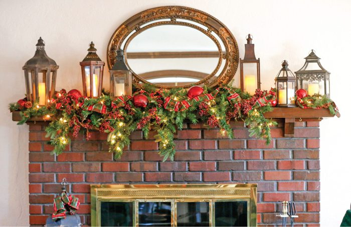 Home Decor – Use whatever you love to up your holiday decorating