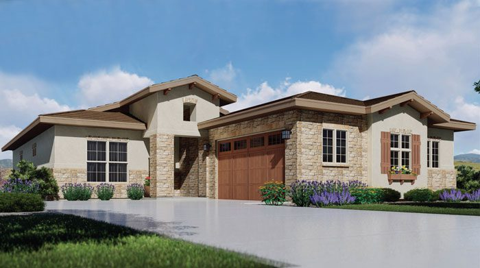 Boulder Creek Neighborhoods delivers new homes with low-maintenance, main-floor living