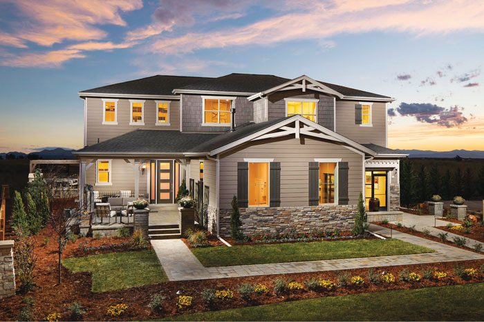Your luxury home awaits at Flatiron Meadows in Erie by Toll Brothers