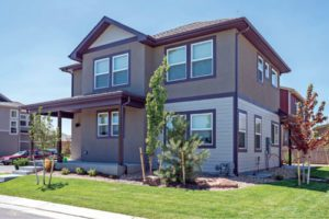 Parkside in Longmont by Flatirons Homes