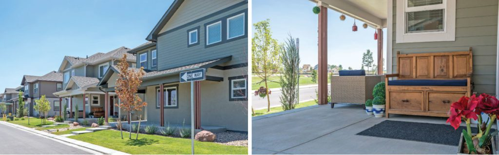 Parkside Homes in Longmont by Flatirons Homes