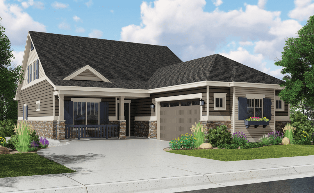 Boulder Creek Neighborhoods showcases low-maintenance, main-floor living in Erie