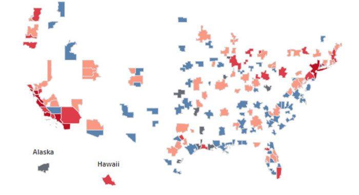 National Housing Shortage Heat Map