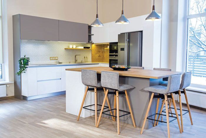 Home features for those who love to entertain